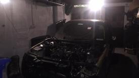 Bmw e46 2004 m sport shell with v5 suit rebuild stock touring car good project parts repair