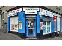 Cleggie News - Newsagent business for sale