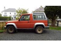 DAIHATSU FOURTRAK TDL LIMITED NEEDS TO GO....OPEN TO OFFERS..