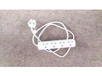 4 Plug Power Strip 1.5m