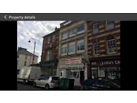 2 bed furnished flat to let. Commercial street. Newport.