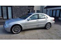 2001 Mercedes C320 Elegance Auto - Long MOT - Full Service History - Upgraded AMG Alloys