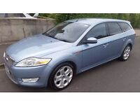 2008 Ford Mondeo 1.8 TDCi Titanium X 5dr Estate 18'' Alloys DVD Player Leather Interior