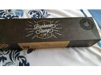 Branding iron for barbeques
