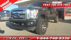 2013 Ford F-350 4X4 Lifted Lariat Loaded Diesel Truck