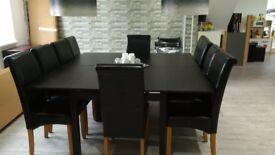 Set of 2 Bjursta Ikea dining tables