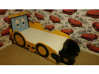 Jcb digger bed with waterproof mattress