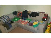 Large bundle of boys clothes size 6-7 years