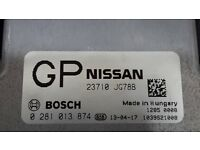 Nissan X-Trail 2.0 dCi, 23710-JG78B, engine ECU (Bosch) for sale.