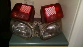 Ford escort lights front and back