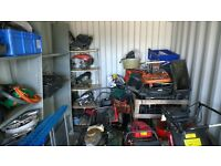 Job lot - lawnmowers - for repair or spares - some nearly working