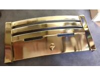 Polished Brass Fire Fret - Brand New - Never used. Buyer to collect from Cleethorpes