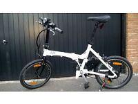 Fold-up electric bike