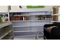 Shop fittings of off licence must be cleared offers invited for fridges freezers& display shelving