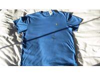 Ralph Lauren Polo Blue Cotton T Shirt - NEW