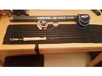 GREYS GTEC ROD AND REEL NEW 8W