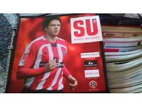 Sheffield United home programs