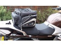 Oxford seat mounted bag for a Motorbike.