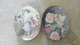 2 X ROYAL WORCESTER FAIRY PLATES