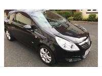 Corsa 1.2 sxi in black