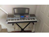 Yamaha PSR-E403 - Portable Keyboard & Synthesiser + Stand + Padded carry bag