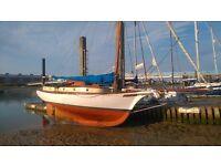 Friendship Sloop Sail Boat £10,000 o.n.o
