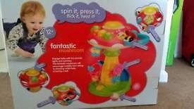 Toy: fantastic mushroom