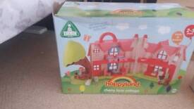 Happyland cherry lane cottage with extra characters