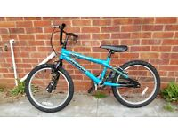 Magna Alien BMX Bike (Suit age: 8 to 16 years).