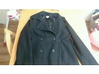 maternity jacket - medium, black