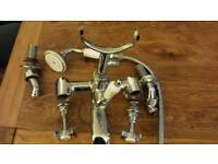 Victorian style mixer shower tap