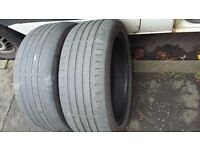 """FREE! 17"""" TYRES (NOT ROAD LEGAL) FOR BACK GARDEN OR KIDS PLAY AREA"""