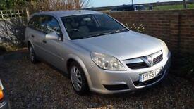 Vauxhall Vectra 1.9 CDTi Estate - Silver - 12 months MOT