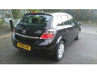 2009 VAUXHALL ASTRA 1.4 5 DOOR HATCHBACK PETROL BLACK... CORSA,POLO,GOLF,FIESTA,FOCUS,PEUGEOT