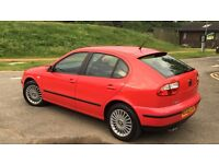 SEAT LEON CUPRA 78K RARE FULL SERVICEH HISTORY LOT OF PAPERWORKS 2 OWNERS SINCE NEW IMMACULATE
