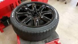 MINI wheel & tyre 4x100