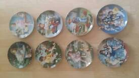 Children of the week plates