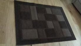 quality brown chocolate rug 1.2 x 1.6