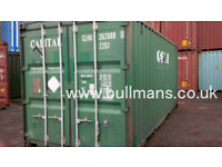 20ft shipping containers for sale – second hand - CSC plated for shipping