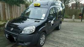 Fiat doblo taxi black cab