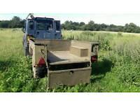 Sankey ex army trailer