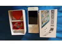 Iphone 4s White 32g, o2 network