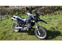 MZ 660 SM Super Moto Motard Black - not Yamaha XT XTX XTR
