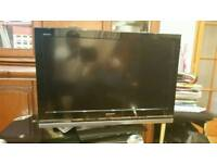 "32""sony LCD tv HD ready with build in freeview"