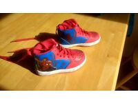 Spiderman Shoes - Children's Size 6