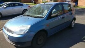 Ford Fiesta 1.3 Finesse 2002 5 Door Manual for sale