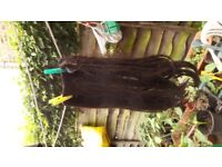HAIR EXTENSION long and Wide Human Hair