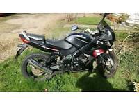 Lexmoto xtrs 125 cc motorbike