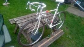 Vintage racing bike