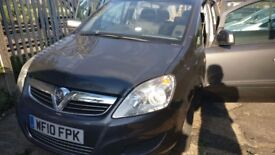 VAUXHALL ZAFIRA AUTOMATIC EXCELLENT CONDITION LOW MILEAGE, DIESEL 7 SEATER £2250 ONO